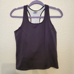 REI workout tank with built in bra